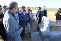 EL YAPIMI BOMBA - Mehdi Eker'in Mezarlık Ziyaretine Yoğun Güvenlik Önlemi