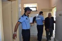 ZABıTA - Nazilli'de Bayram Öncesi Umumi Tuvaletler Denetlendi