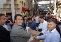 BAYRAM ALIŞVERİŞİ - Osmangazi Belediyesi İftariyelik Dağıttı