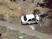 Otomobil Şarampole Yuvarlandı Açıklaması 3 Ölü 3 Yaralı