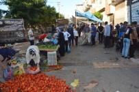 SEMT PAZARI - Pazarda Yer Kavgası Açıklaması 6 Yaralı