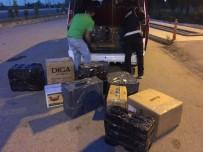 Samsun'da 8 Bin 150 Paket Kaçak Sigara Ele Geçti