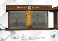 Simav Belediyesinden  'Hanımeli Pazarı' Projesi