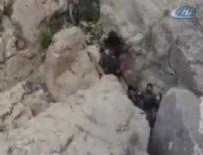 TSK paylaştı! 3 PKK'lı böyle teslim oldu