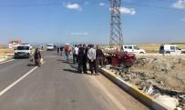 YAVUZ SULTAN SELİM - Uşak'ta Trafik Kazası; 1 Ölü, 3 Yaralı