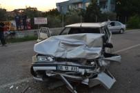 ALKOL MUAYENESİ - Adana'da Zincirleme Trafik Kazası Açıklaması 3 Yaralı