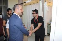 AHMET ADANUR - Adanur, Cizre Halkı İle Bayramlaştı