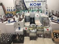 EMNIYET MÜDÜRLÜĞÜ - Antalya'da Sahte İçki İmalatına Baskın