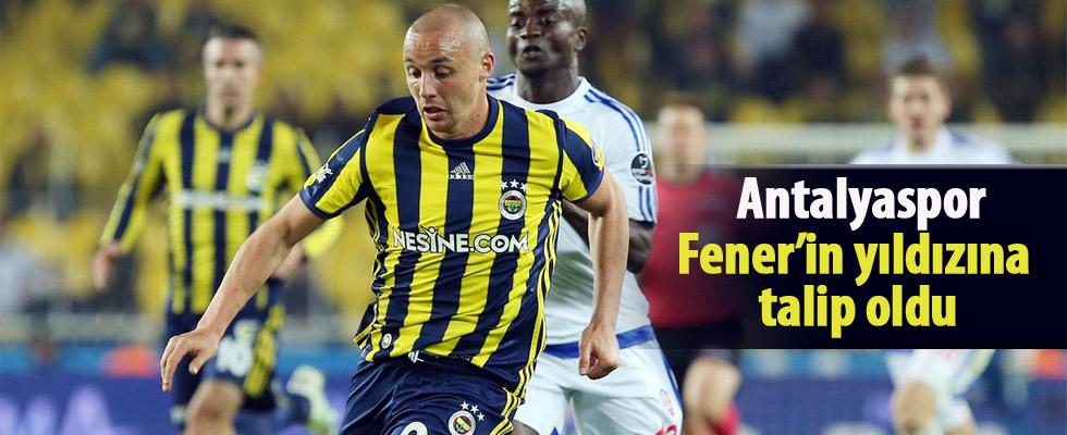 Antalyaspor, Fenerbahçe'nin yıldızına talip oldu!