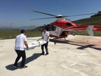 Ayağı Kesilen 3 Yaşındaki Çocuğun Yardımına Ambulans Helikopter Yetişti