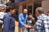 ALıŞVERIŞ - Başkan Doğan Esnaf Ve Vatandaşlarla Bayramlaştı