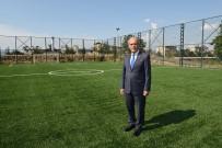 FUTBOL SAHASI - Büyükşehir'den Spora Bir Katkı Daha