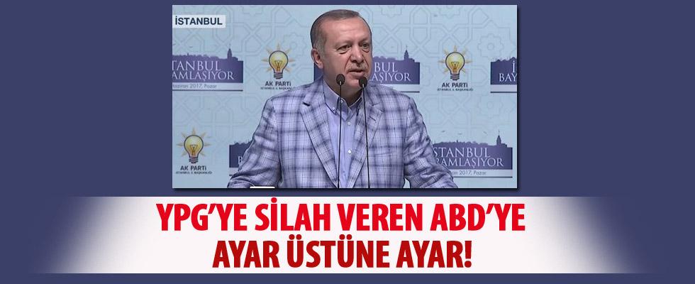 Erdoğan AK Parti bayramlaşma töreninde konuştu