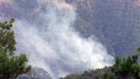 Denizli'de Orman Yangını Açıklaması 5 Hektarlık Alan Zarar Gördü
