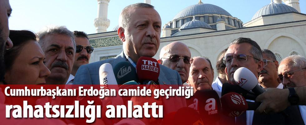 Erdoğan: Şu anda gayet iyi konumdayım