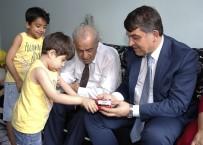 ŞEHADET - Fadıloğlu, Şehit Ailesi İle Bayramlaştı