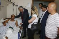 MADEN İŞÇİSİ - GMİS'ten Hasta Ve Kazalı Ziyaretleri