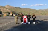 ŞEHİT YÜZBAŞI - Hakkari'de Şehit Asker İçin Tören Düzenlendi