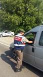 TRAFİK GÜVENLİĞİ - Jandarma Trafik Ekiplerinden Emniyet Kemeri Uygulaması