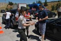 EMNIYET KEMERI - Jandarmadan Bayram Trafiği Tedbirleri