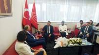 MEVLÜT KARAKAYA - AK Parti'den CHP Ve MHP'ye Bayram Ziyareti