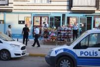 SÜPERMARKET - Antalya'da Bıçaklı Market Soygunu