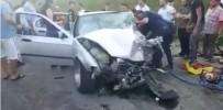 ACIL SERVIS - Beykoz'da Yaşanan Trafik Kazasında Faciadan Dönüldü Açıklaması 5 Yaralı