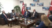 KAMİL OKYAY SINDIR - CHP'den MHP'ye Bayram Ziyareti