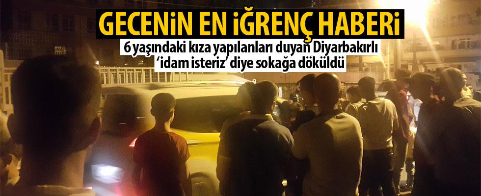 Diyarbakır halkı sokağa döküldü