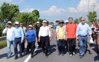 Kartal Belediye Başkanı Öz'den 'Adalet Yürüyüşü'ne Destek