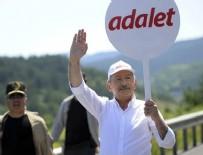 MALTEPE CEZAEVİ - Kılıçdaroğlu'nun yürüyüşünün 12. günü