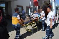 Kontrolden Çıkan Otomobil Takla Attı Açıklaması 3 Yaralı