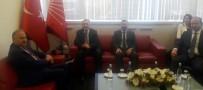 GENEL BAŞKAN YARDIMCISI - MHP'den CHP'ye Bayram Ziyareti
