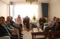 ESENGÜL CIVELEK - Muğla'ya Atanan Kadın Vali, Şehit Yakınları Ve Gazi Ailelerini Unutmadı