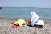 ACIL SERVIS - Ölüm Ukraynalı Kamyon Şoförünü Denizde Yakaladı