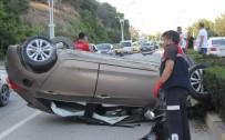 Otomobil Takla Attı Açıklaması 6 Yaralı
