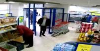 POLİS - Silahlı Gaspçı Önce Kameralara, Ardından Polise Yakalandı