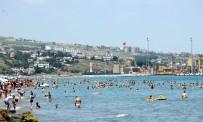 Tekirdağ Plajlarındaki Yoğunluk Sürüyor