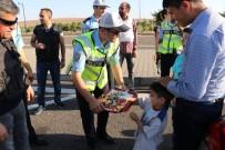 KUBAT - Trafik Polislerinin Bayram Mesaisi