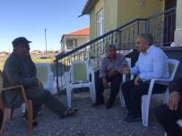 ABDULLAH AĞRALı - Ağralı'dan Öldürülen 5 Kişinin Yakınlarına Ziyaret