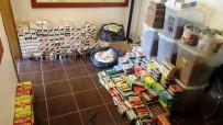 ELEKTRONİK SİGARA - Ayvalık Ve Gömeç'te Kaçak Tütün Ve Sigara Operasyonu