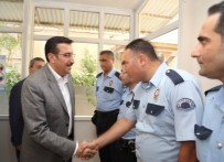 BEYDAĞı - Bakan Tüfenkci Güvenlik Güçleri İle Bayramlaştı