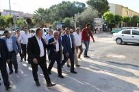 KANALİZASYON - Genel Müdür Coşkun, Akhisar'daki Yağmursuyu Hattını İnceledi
