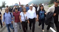 KEMAL KILIÇDAROĞLU - Kılıçdaroğlu Bolu Dağı'nı aştı