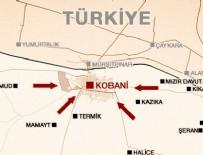 Kobani'den Türkiye'ye girerken yakalandılar!