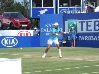 MARSEL İLHAN - Marsel İlhan, Antalya Open'da İkinci Turda