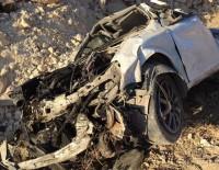 BALıKLıGÖL - Şarampole Yuvarlanan Otomobilin Sürücüsü Yaralandı