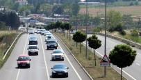 Tatilciler Dönüş Yolunda, Tekirdağ'da Trafik Felç