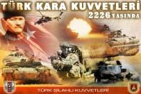 Türk Kara Kuvvetleri 2226 yaşında