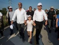 ENIS BERBEROĞLU - Adalet yürüyüşünde çocuklara slogan attırdılar